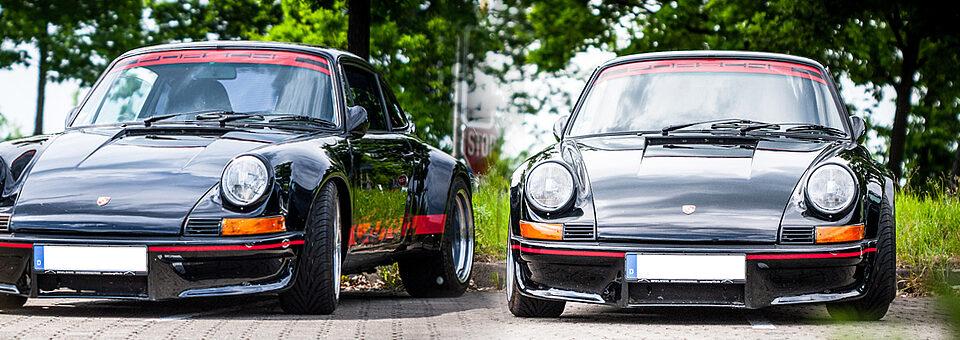 Slider Porsche Schwarz